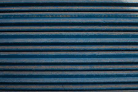 Blue Steel Door Stock Photo - 17246484