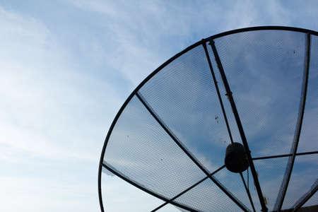 Bad antennas Stock Photo
