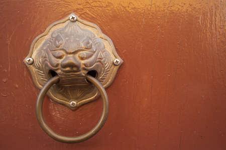 Chinese art door photo