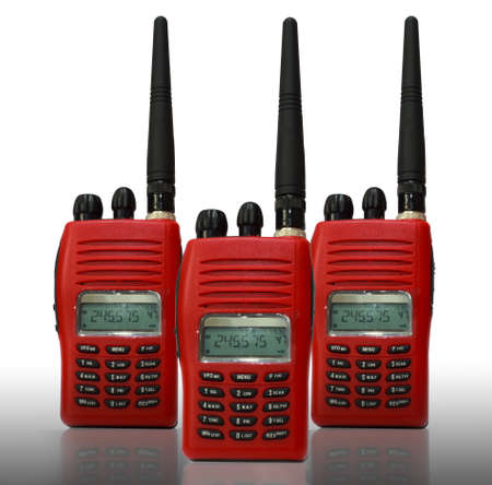 Radio communication Stock Photo - 17545711