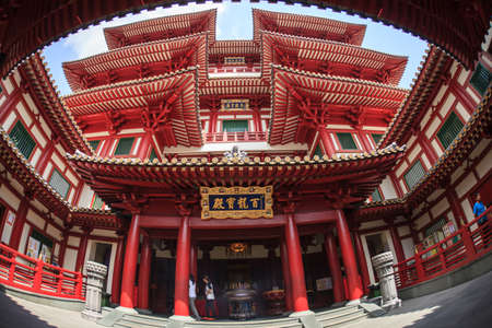 Buddha Tooth Relic Temple, Singapore photo