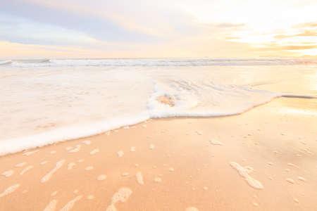 Beautiful Andaman Sea in Sunset