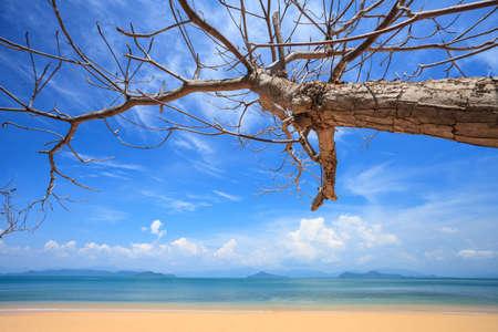 Beautiful Andaman Sea and Blue Sky