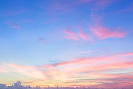 sunrise: Bueatiful sunset sky.