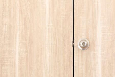 black wood texture: Vintage wood door with iron handle.