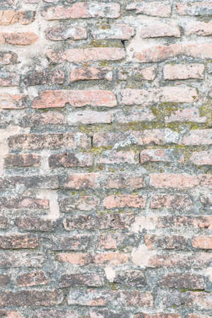 old brick wall. fortress interior block vignette facade wallpaper rustic brickwork dark white basement layout architectural design vintage detail surface spot beams stained grey closeup spot cracked