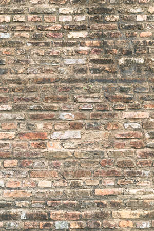 Old Brick Wall. Fortress Interior Block Vignette Facade Wallpaper Rustic  Brickwork Dark White Basement Layout