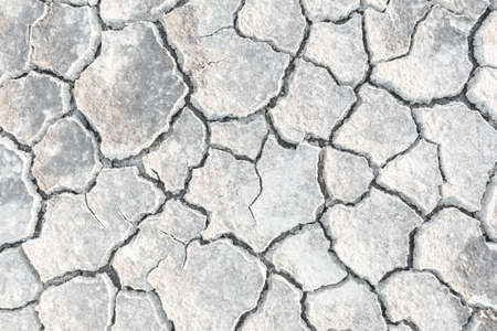 barren land: crack earth texture. barren environmental global extreme nature ground heat damage land parched abnormal disaster Stock Photo