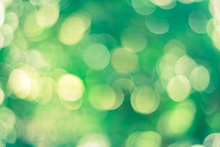 Green bokeh nature background World Environment Day CSR