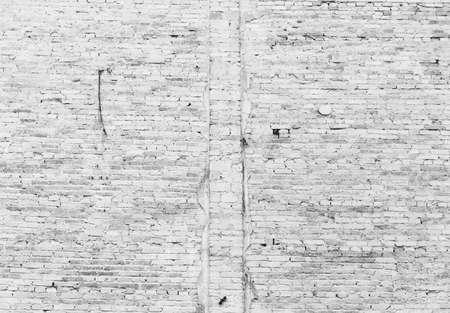 White Brick Cement Wall Background