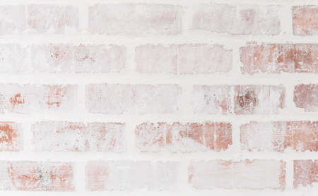 Close-up bright vintage bricks wall background. High resolution picture. Stock Photo