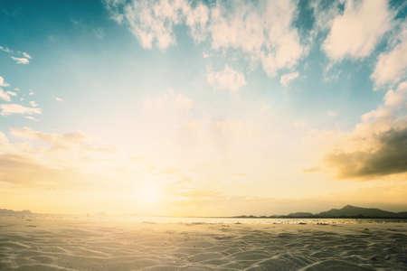 defocus: Blurred nature sky clean defocus backdrop scene concept for 2018 congratulation theme text heading holy spirit soft sea ocean art color pastel fresh ocean ozone montage red new central festival asia