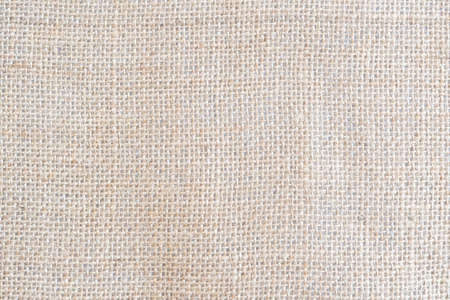 Back brown Fabric canvas texture background with blank space for text design. Clean yellow beige Hessian sackcloth wool pleat woven concept cream sack pattern color, retro plain cotton cloth.