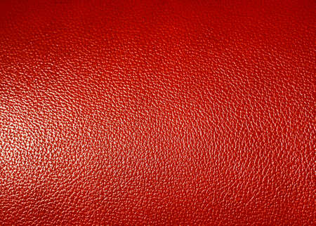 leatherette: Surface of  Red leatherette texture as background