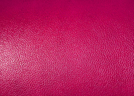 leatherette: Surface of  pink leatherette texture as background Stock Photo