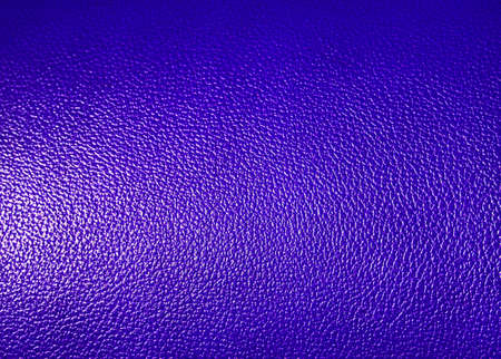 leatherette: Surface of  Blue leatherette texture as background