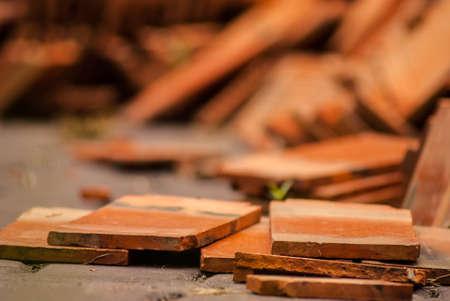 detritus: Brick ruins