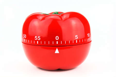 Red tomato - decorative timer for kitchen.