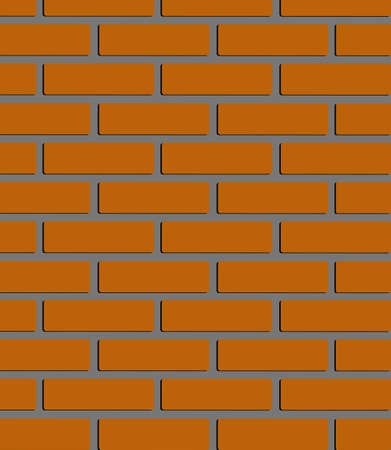 cemented: A brick wall texture Illustration