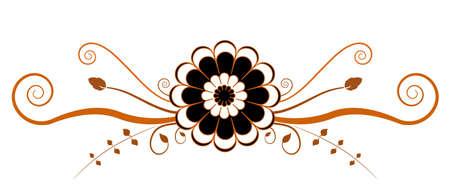 Original floral element for design   Stock Vector - 15701128