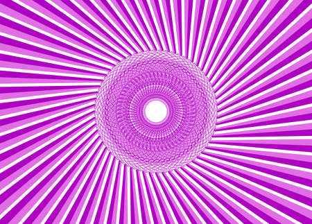Abstract pink vortex is created from crossing lines   illustration  Vector
