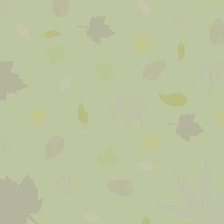 art leaves autumn background card Vector