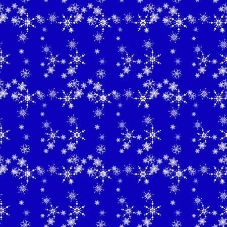 Christmas seamless background with snowflake, mistletoe, element for design, vector illustration  Stock Vector - 16770803