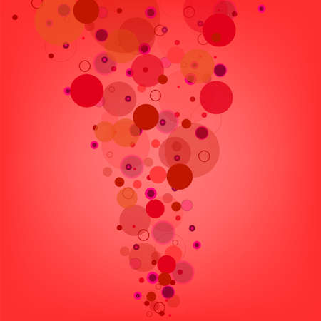 Abstract  bubble colorful background  illustration  Stock Vector - 16770777