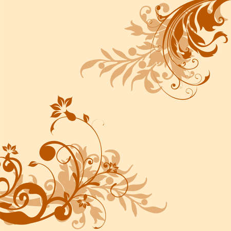 bautizo: Boda tarjeta o invitaci�n con la postal abstracta fondo floral felicitaci�n en grunge o retro Elegance vector con flores rosas vendimia floral ilustraci�n estilo de San Valent�n aniversario Vectores