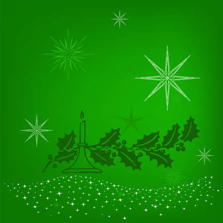 Christmas Background  Abstract Illustration  Stock Vector - 16858919