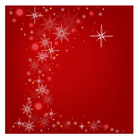 Christmas background with snowflakes   Stock Vector - 16858933