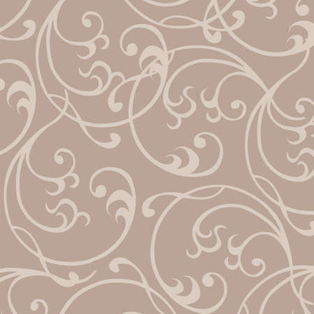 damask: Seamless Wallpaper, Vector Background  illustration