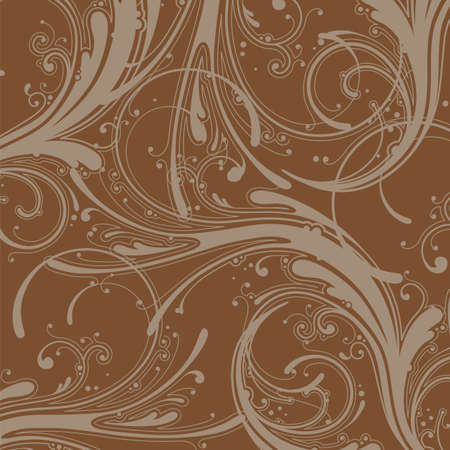 Seamless Wallpaper, Vector Background  Vector