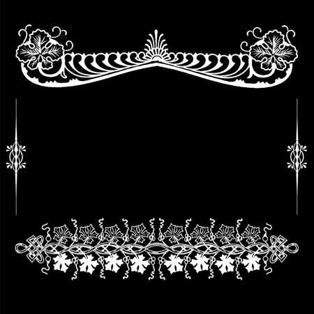 Decorative Vintage Ornate Banner Stock Vector - 17179964