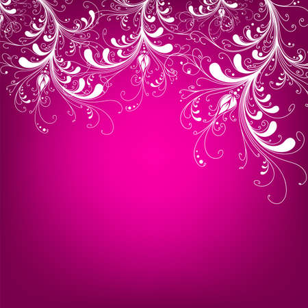 Floral greeting card ,abstract, background,  Stock Vector - 17248522