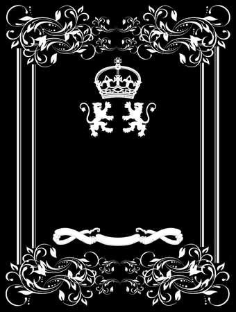 Decorative Vintage Ornate Banner  Vector Illustration  Stock Vector - 17371492