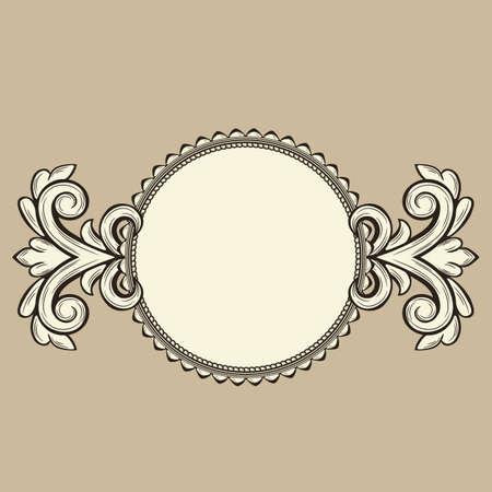 Vintage frame Stock Vector - 18386694