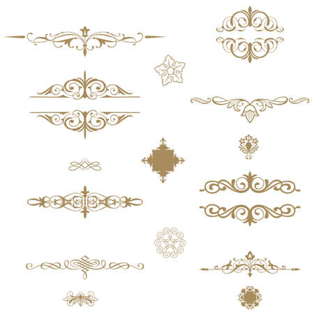 Borders and elements for design