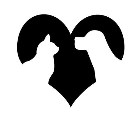 veterinary symbol:  Love to animals