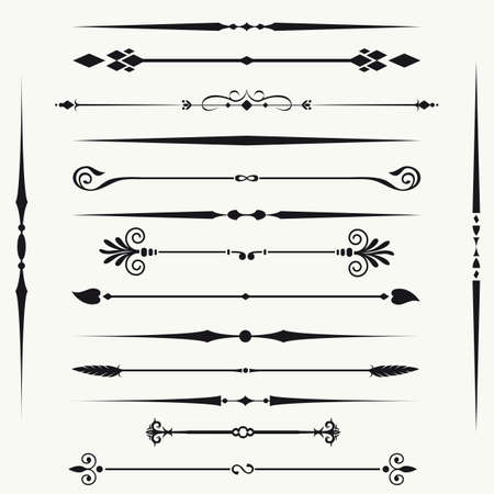 line in: Bordi ed elementi per la progettazione Vettoriali