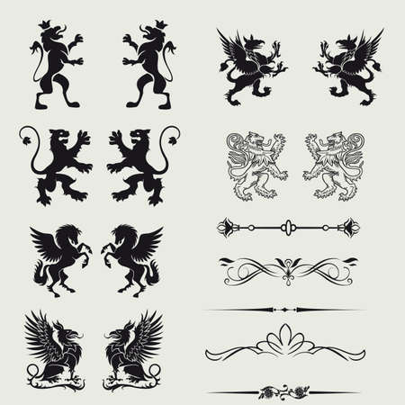 Borders and elements for design  Vector   Vector