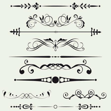 邊框和設計矢量元素