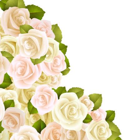 bautizo: Tarjeta o invitaci�n de boda con el fondo floral abstracto. Saludo postal de grunge o patr�n Elegance vector retro con flores rosas florales ilustraci�n de estilo vintage aniversario Valentine