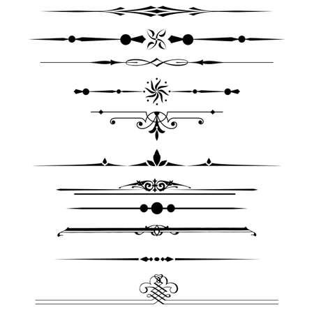 邊框和設計元素 向量圖像
