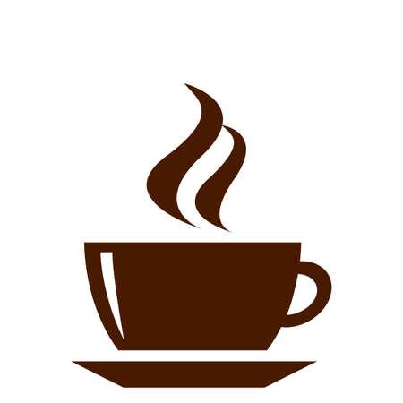 tasse caf�: tasse ? caf? vecteur Illustration