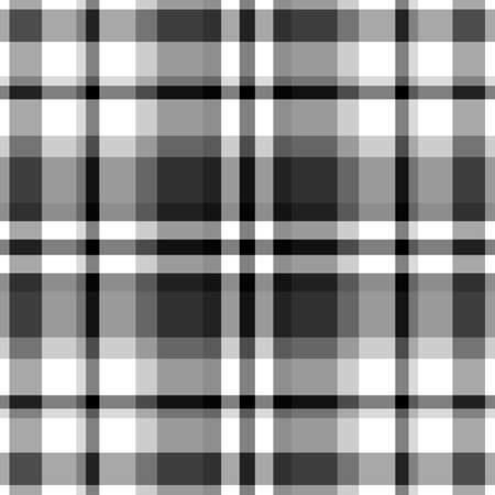 Black and white plaid patterns Stock Vector - 22764827