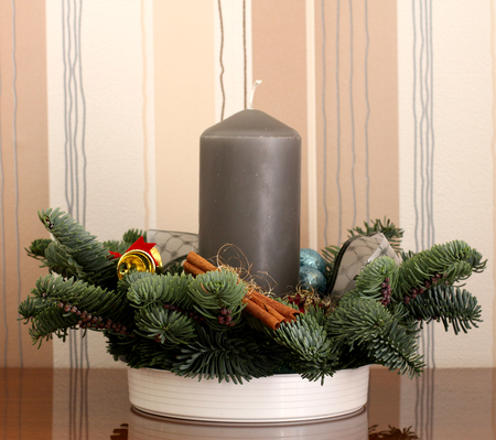 advent wreath: Corona de Adviento
