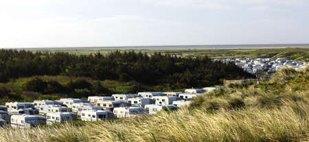 german north sea region: camping on the island of Sylt Westerland