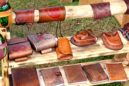 viking: Viking leather bags.