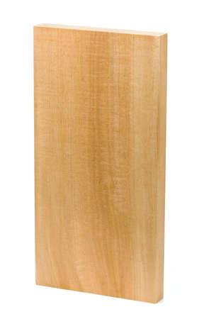 tilo: tablero de tilo en un fondo blanco